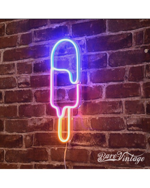 Popsicle LED Neon Sign